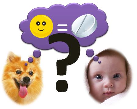 פלצבו גם בחיותותינוקות?